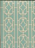 Empress Empire Lattice Wallpaper 2669-21742 By Deacon House for Brewster Fine Decor